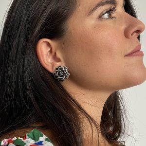 Chanel Camelia Earrings