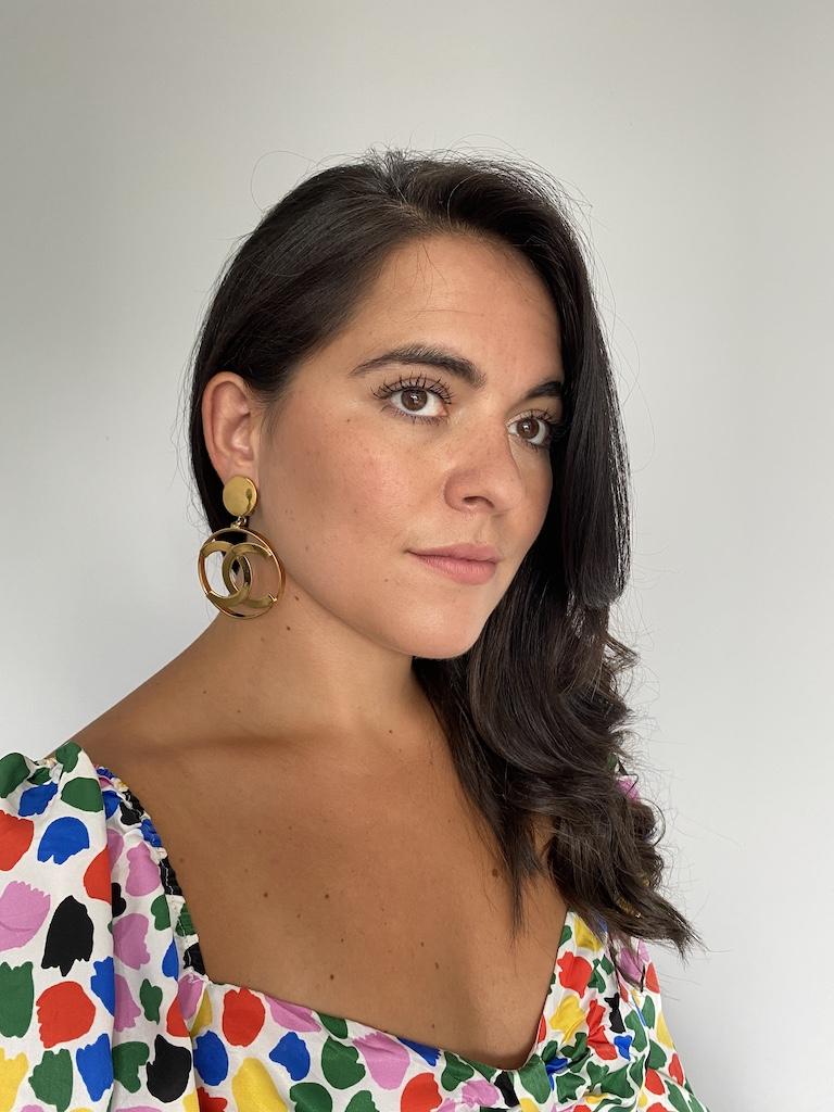 Chanel Hoop Earrings