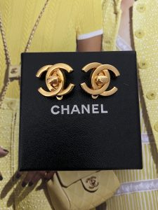 Chanel CC Earrings