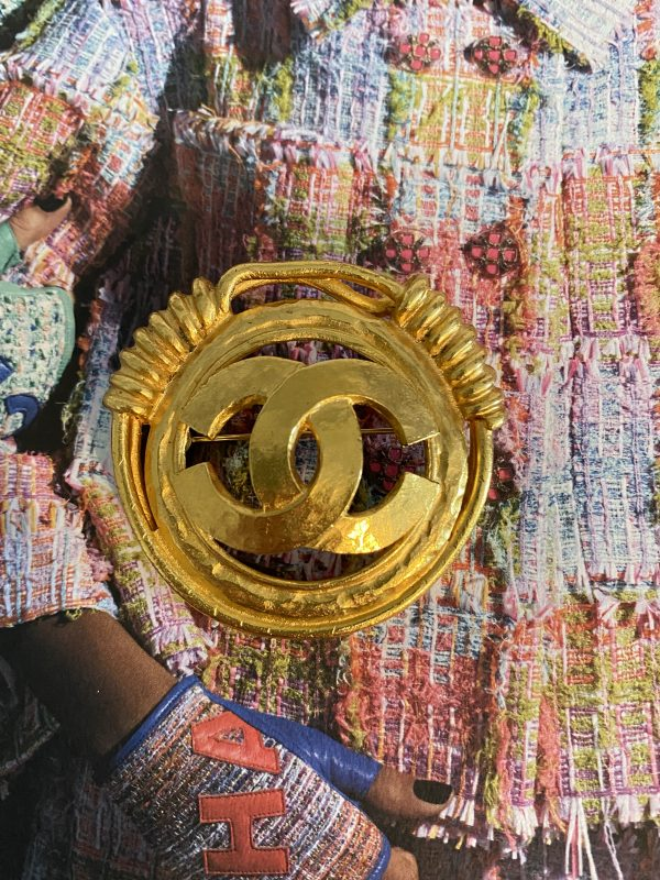 Chanel Etruscan Brooch