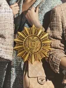 Chanel Crest Brooch