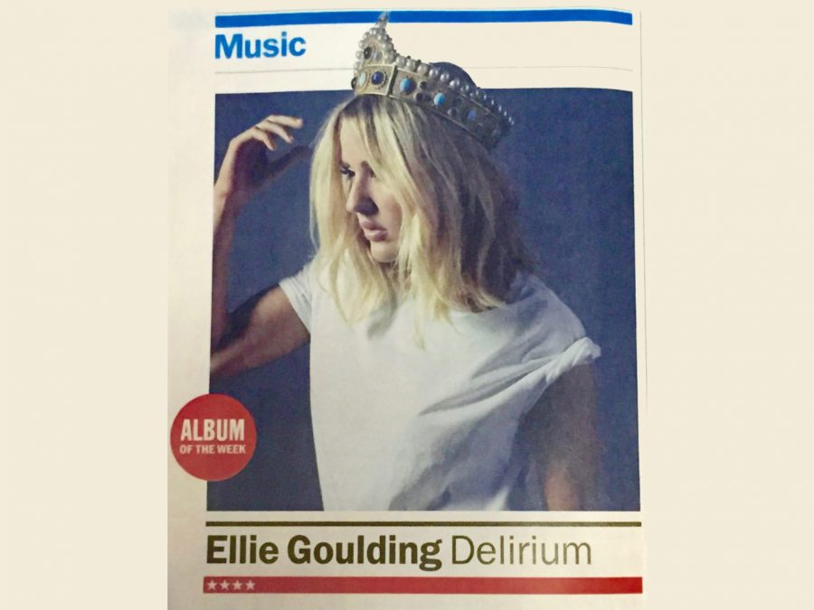 Ellie Goulding Album Cover
