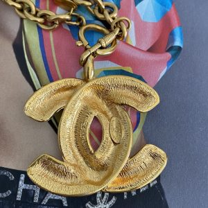 Chanel Jumbe CC Necklace