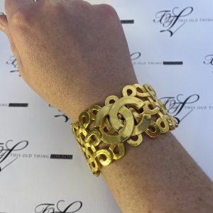 Chanel CC Bracelet