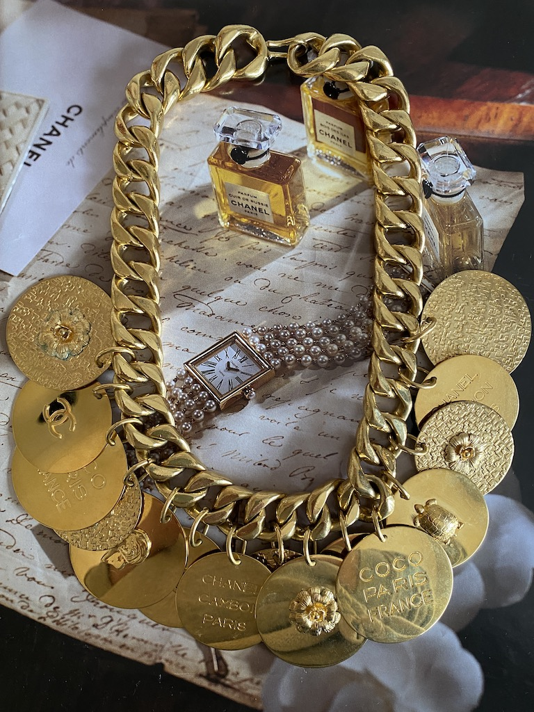 Chanel Coin Necklace