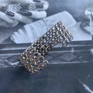 Chanel Silver Cuff