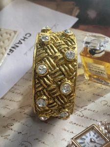 Vintage Chanel Cuff
