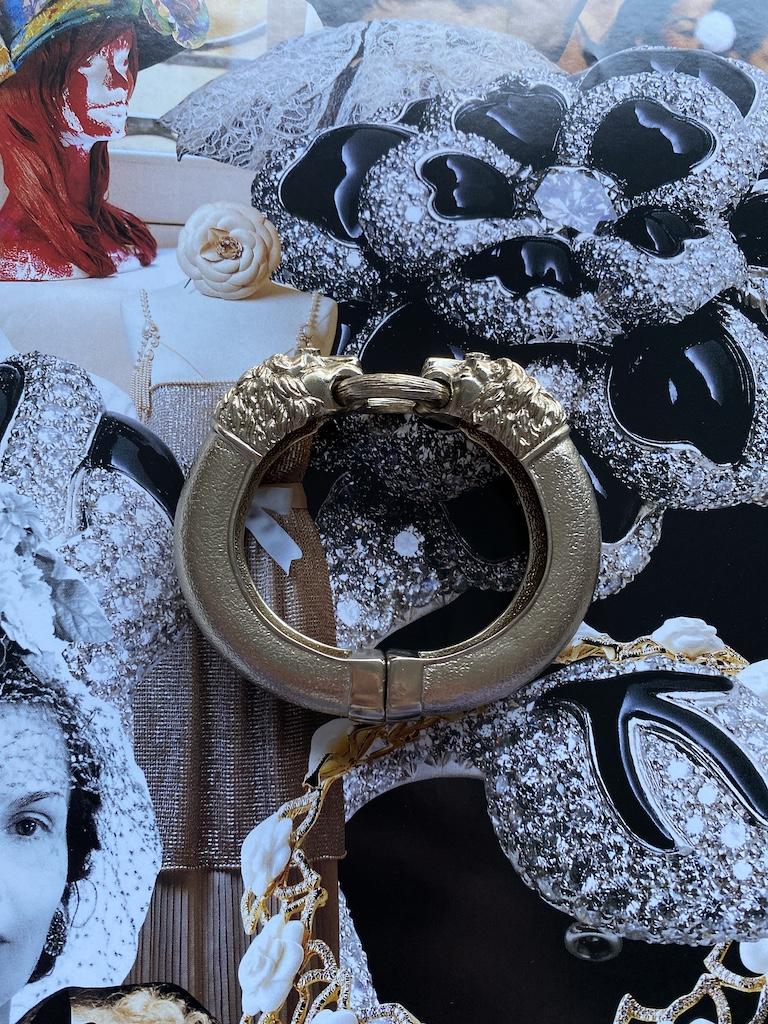 Chanel Lion Bangle