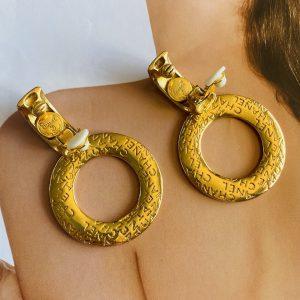 Rare Chanel 2 in 1 Earrings