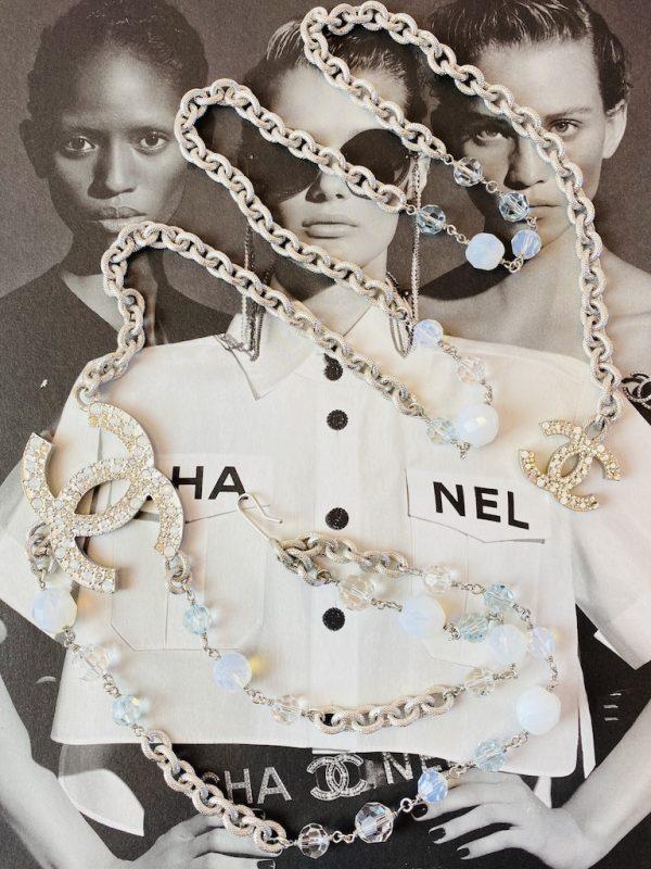 Chanel Crystal Belt