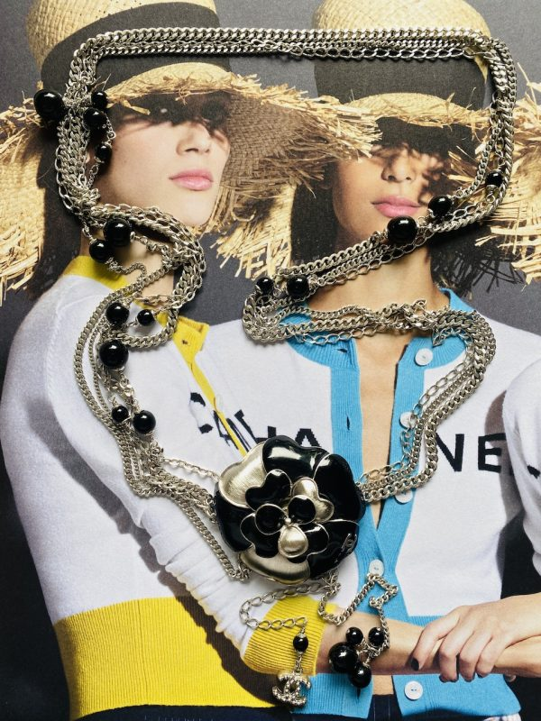 Chanel Camelia Belt