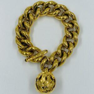 Chanel CC Charm Chain Bracelet